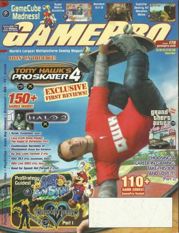 Gamepro Issue 170 November 2002