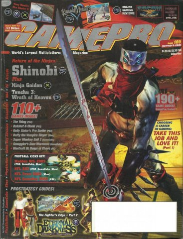 Gamepro Issue 169 October 2002