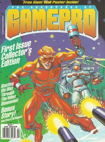The Adventures of Gamepro Issue #1 (1990)