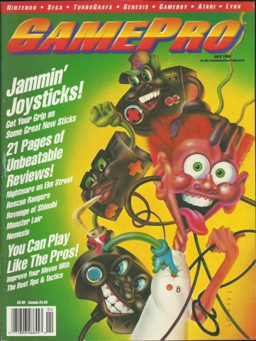 Gamepro Issue 009 April 1990