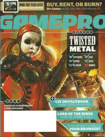 GamePro Issue 271 April 2011