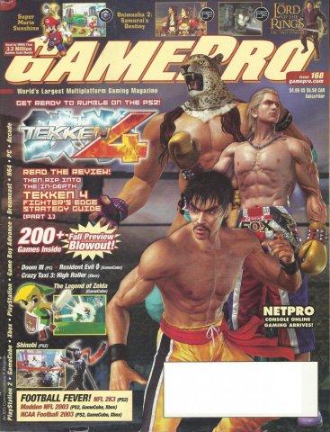 Gamepro Issue 168 September 2002
