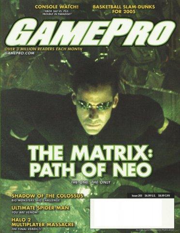 Gamepro Issue 205 October 2005