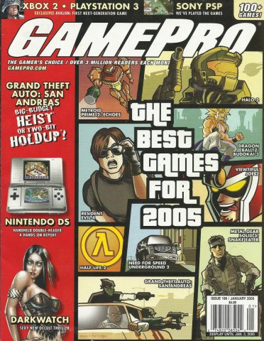 Gamepro Issue 196 January 2005
