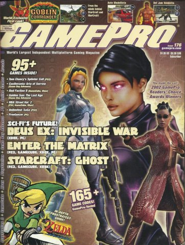 Gamepro Issue 176 May 2003