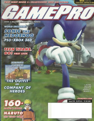 Gamepro Issue 210 March 2006