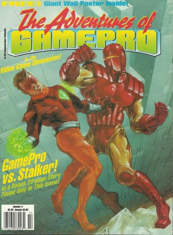 The Adventures of Gamepro Issue #2 (1991)