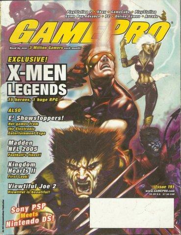 Gamepro Issue 191 August 2004