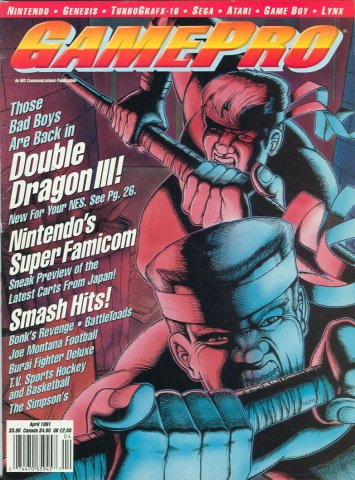 GamePro Issue 021 April 1991