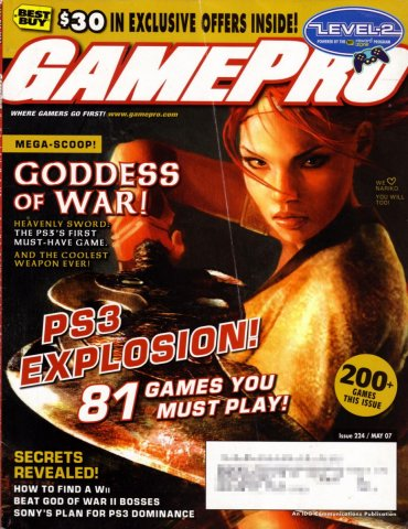 GamePro Issue 224 May 2007