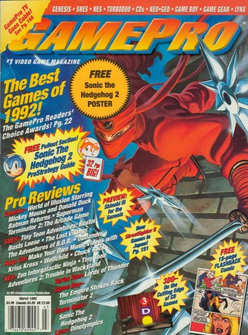 GamePro Issue 044 March 1993