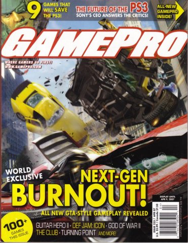 GamePro Issue 223 April 2007