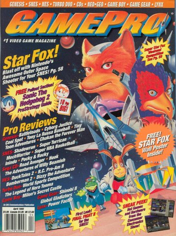 GamePro Issue 045 April 1993