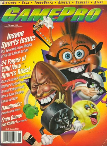 GamePro Issue 007 February 1990