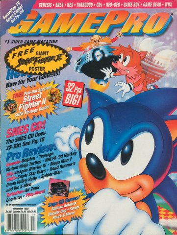 GamePro Issue 040 November 1992