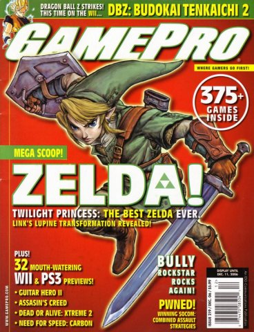 GamePro Issue 219 December 2006