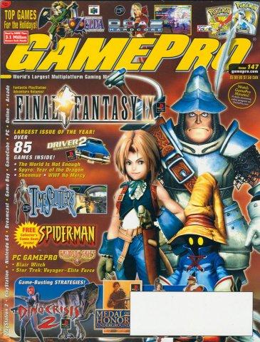 GamePro Issue 147 December 2000
