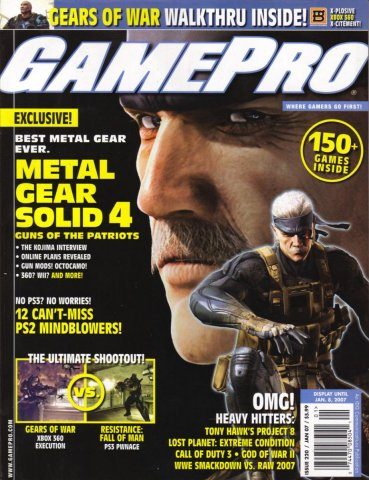 GamePro Issue 220 January 2007
