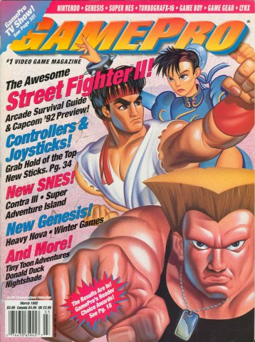 GamePro Issue 032 March 1992
