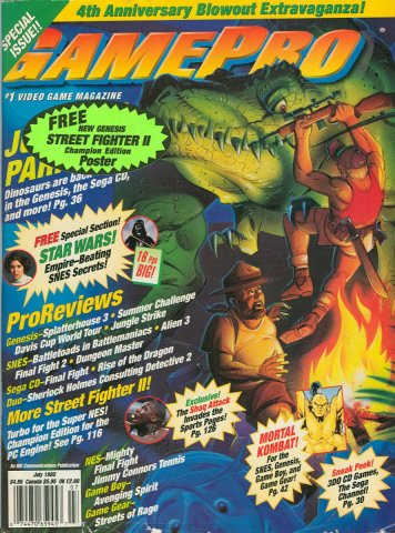 GamePro Issue 048 July 1993