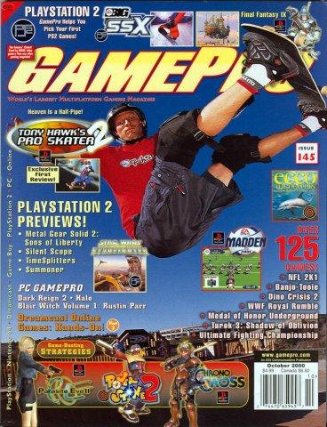 GamePro Issue 145 October 2000
