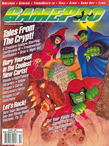 GamePro Issue 015 October 1990