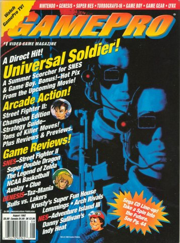 GamePro Issue 037 August 1992