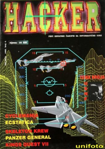 Hacker no. 4 February 1995
