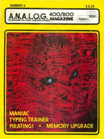 Analog Computing Issue 006