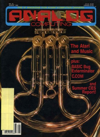 Analog Computing Issue 033