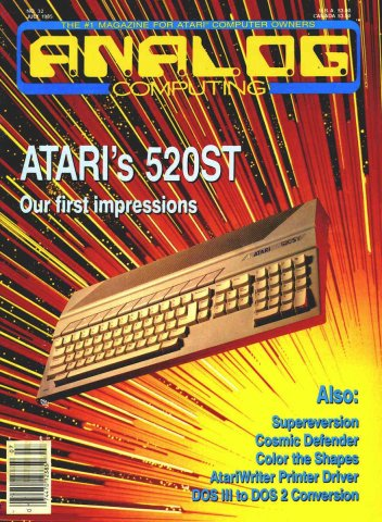 Analog Computing Issue 032