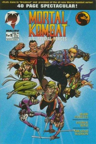 Mortal Kombat U.S. Special Forces #1