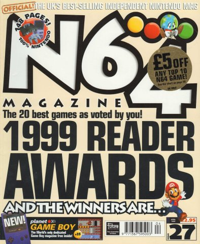 N64 Magazine Issue 27