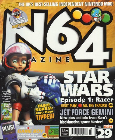 N64 Magazine Issue 29