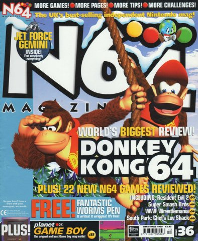 N64 Magazine Issue 36
