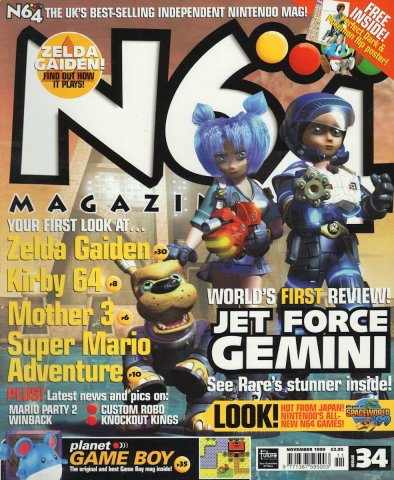 N64 Magazine Issue 34