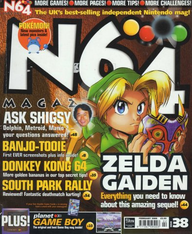 N64 Magazine Issue 38
