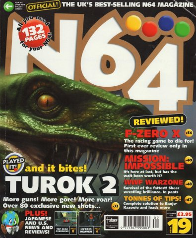 N64 Magazine Issue 19