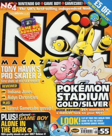 N64 Magazine Issue 55