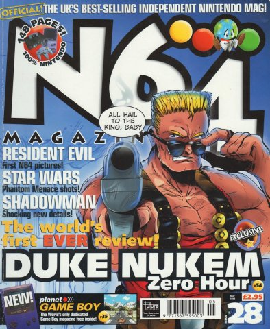 N64 Magazine Issue 28