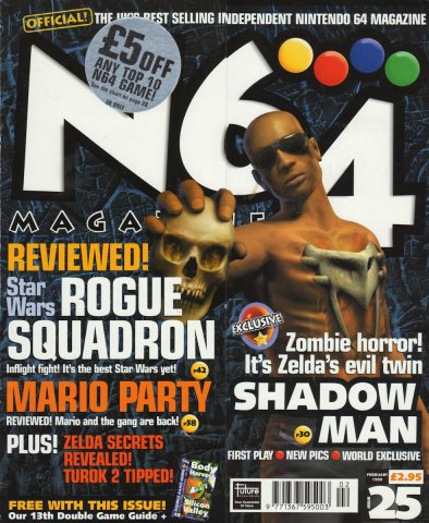 N64 Magazine Issue 25