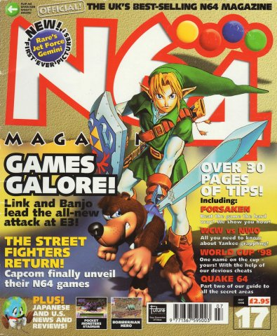 N64 Magazine Issue 17