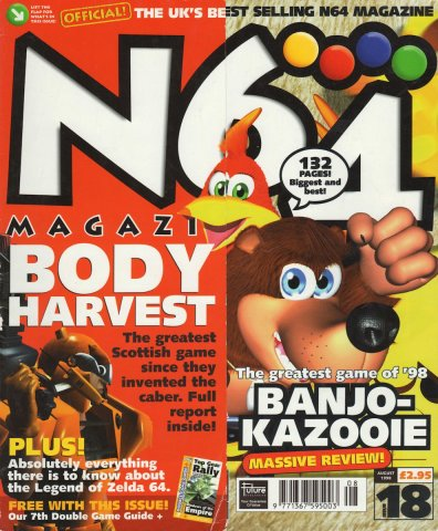 N64 Magazine Issue 18