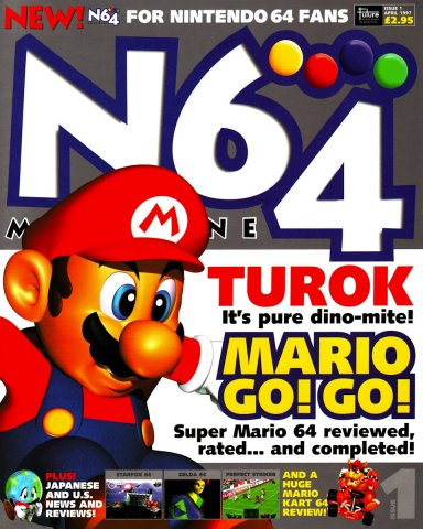 N64 Magazine Issue 01