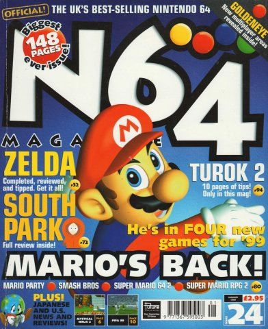 N64 Magazine Issue 24