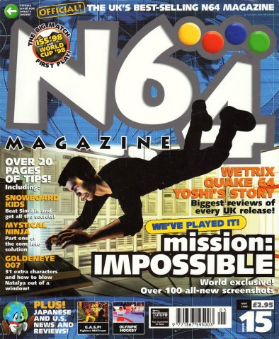 N64 Magazine Issue 15
