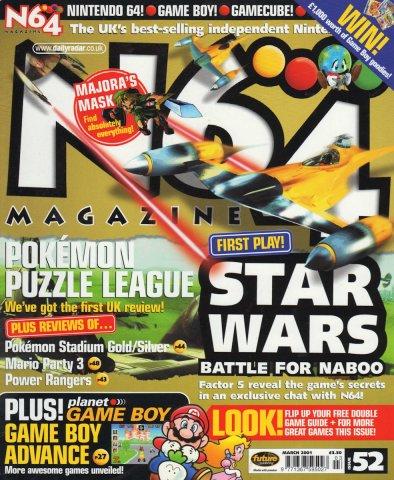 N64 Magazine Issue 52