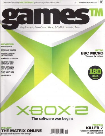 Games TM Issue 018 (April 2004)