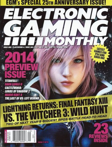 Electronic Gaming Monthly Issue 262 Winter 2014 (Cover 3 of 4)