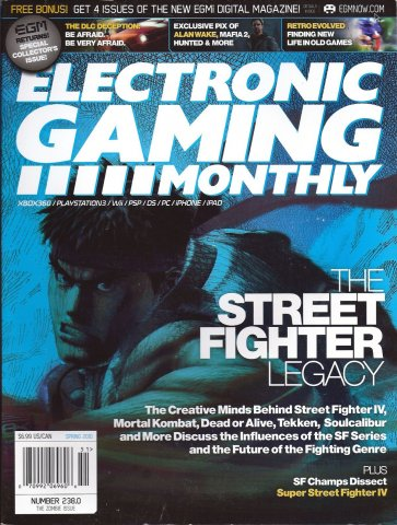 Electronic Gaming Monthly Issue 238 Spring 2010 Cover 2 of 2